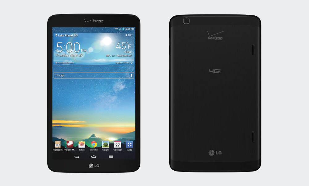 Wymiana szyby, dotyku, digitizera wyświetlacza LG G Pad Verizon 8.3 LTE
