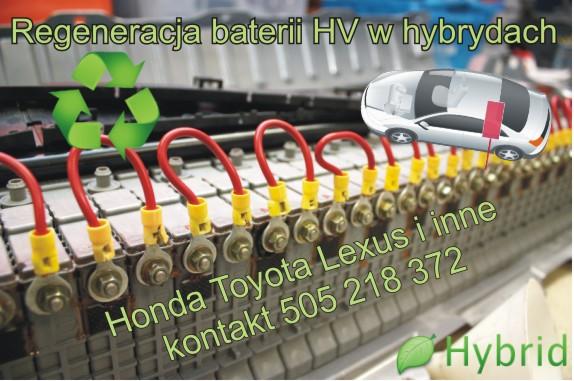 regeneracji baterii w hybrydach