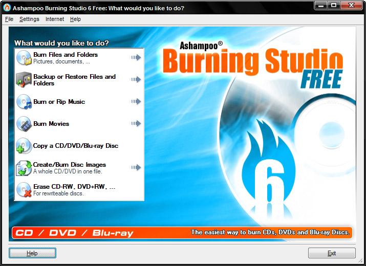 Ashampoo ®  Burning Studio FREE